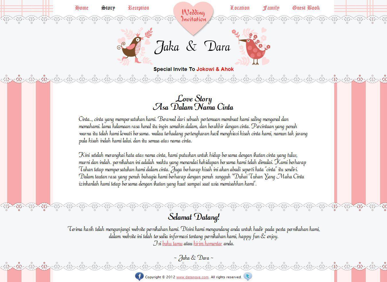 Published at 1349 215 982 in undangan pernikahan online datangya com