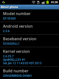 update firmware samsung galaxy Young ke Android 2.3.6 DXMA1 Indonesia