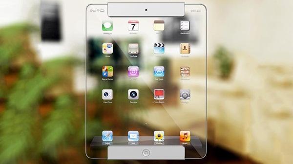 (Video) Konsep iPad Transparan Masa Depan