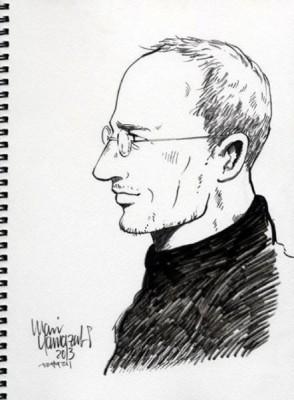 Steve Jobs Hadir di Komik