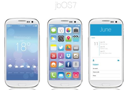 Download Skin iOS 7 Untuk Android