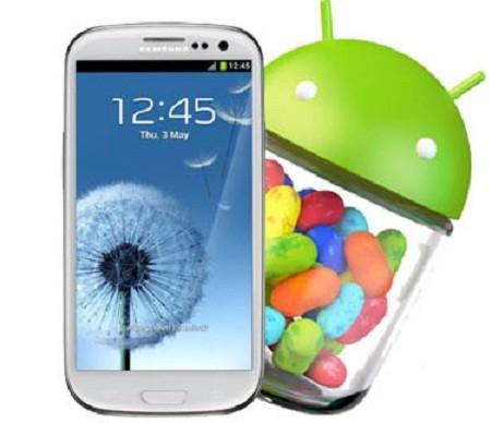 Update Android 4.2 Untuk Samsung Galaxy S3