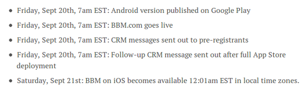 BBM untuk Android akan Rilis Pada 20 September 2013