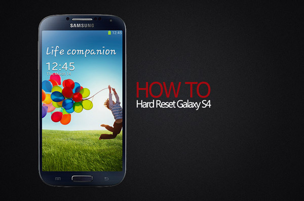 Cara Reset Samsung Galaxy S4