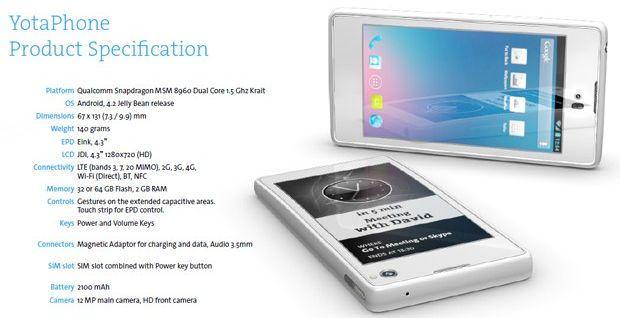 Inilah Smartphone Android dengan 2 Layar