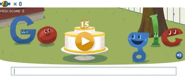 ulang tahun google yan ke 15