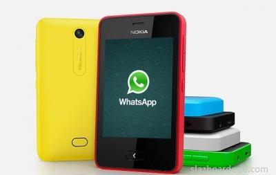 Download WhatsApp Untuk Nokia Asha 501
