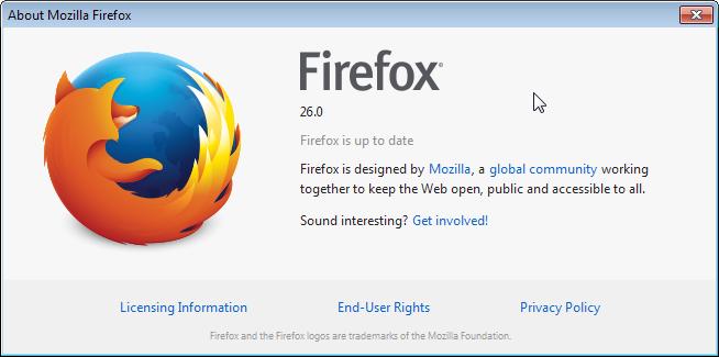 Download Firefox 26 Resmi Dari Mozilla