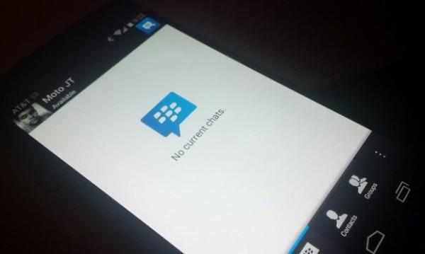 Download BBM untuk Android Gingerbread