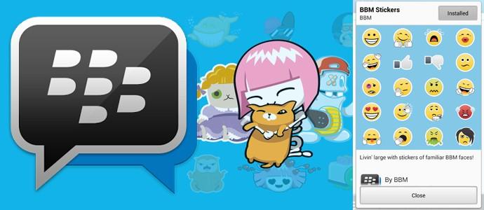 Stiker BBM Sudah Resmi Dirilis, Download Gratis
