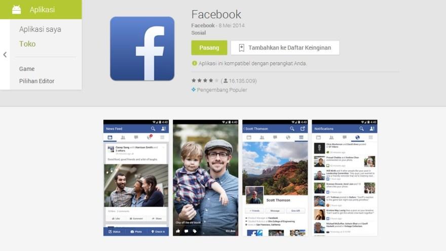 Sekarang Bisa Publish di FB Secara Offline