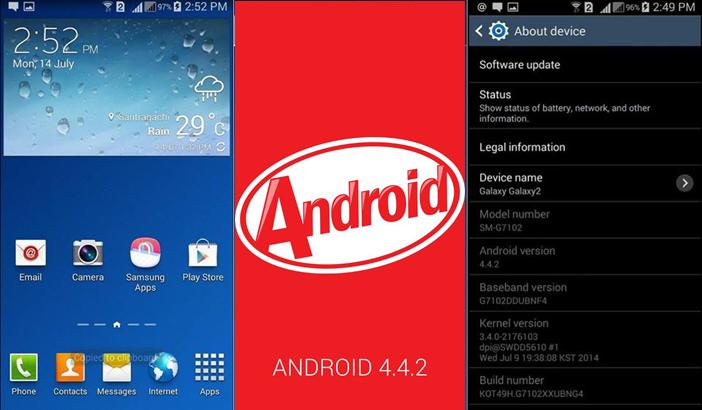 Cara Update Samsung Galaxy Grand 2 Ke Android Kitkat 4.4.2