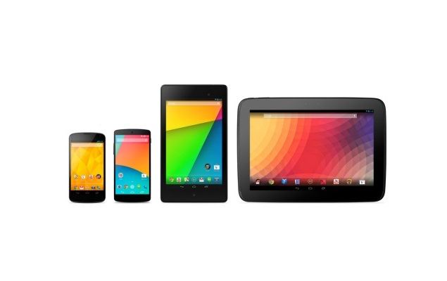 Nexus 4, 5, 7 dan 10