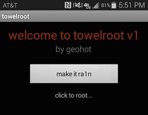 Cara Root Samsung Galaxy S5