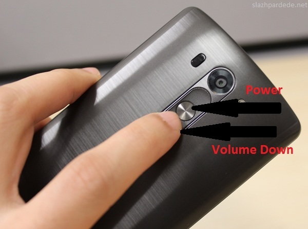 Cara Screenshot Di LG G3