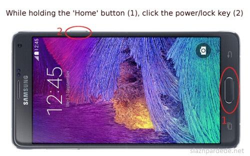 Cara Screenshot Pada Samsung Galaxy Note 4