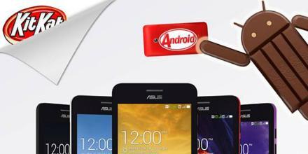 Update Android KitKat untuk ZenFone 4 Sudah Tersedia