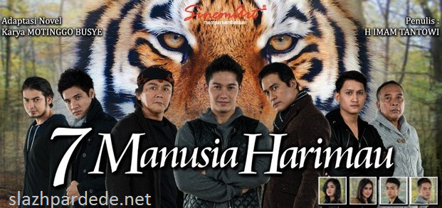 Download Novel 7 Manusia Harimau Karya Motinggo Busye