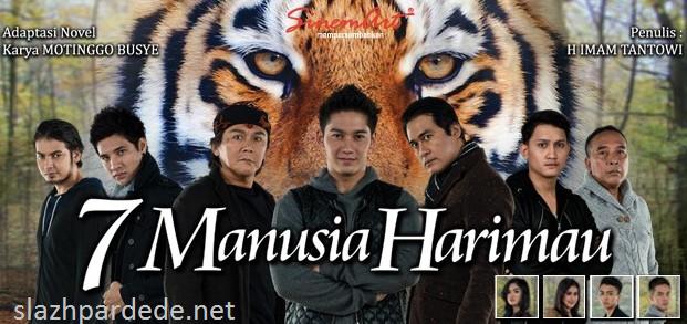 Download Novel 7 Manusia Harimau Karya Motinggo Busye
