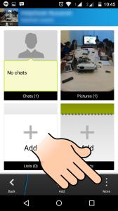 Cara Mematikan Notifikasi Grup BBM Android (2)