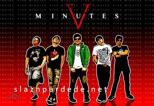Lirik Lagu Five Minutes - Terdampar Di Hatimu