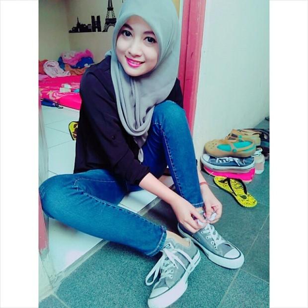 Foto Terbaru Siti Rohmah, Kasir Cantik Indomaret (14)