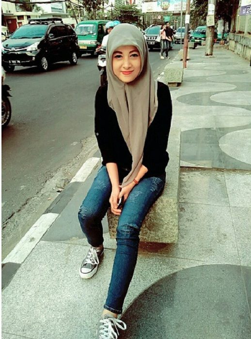 Foto Terbaru Siti Rohmah, Kasir Cantik Indomaret (4)