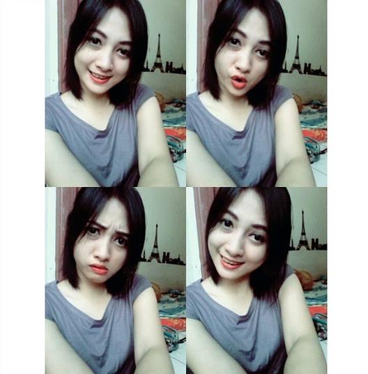 Foto Terbaru Siti Rohmah, Kasir Cantik Indomaret (6)