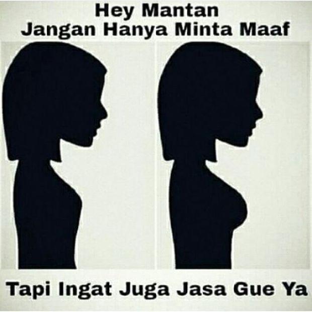 Kumpulan Meme Dear Mantan Maafin Aku Yang Dulu (10)