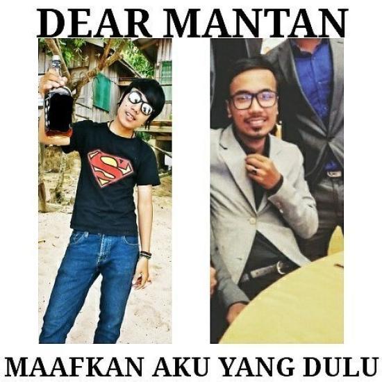 Kumpulan Meme Dear Mantan Maafin Aku Yang Dulu (17)