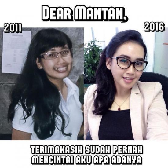 Kumpulan Meme Dear Mantan Maafin Aku Yang Dulu (2)