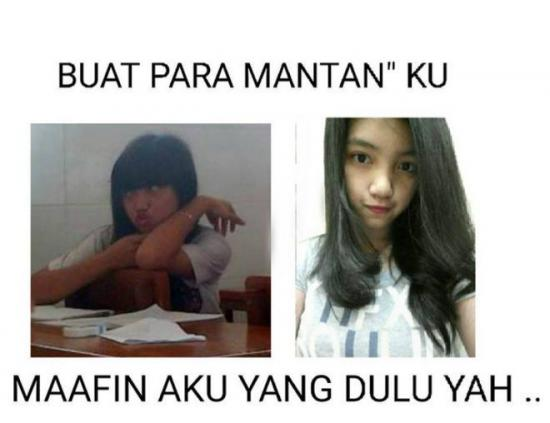 Kumpulan Meme Dear Mantan Maafin Aku Yang Dulu (23)