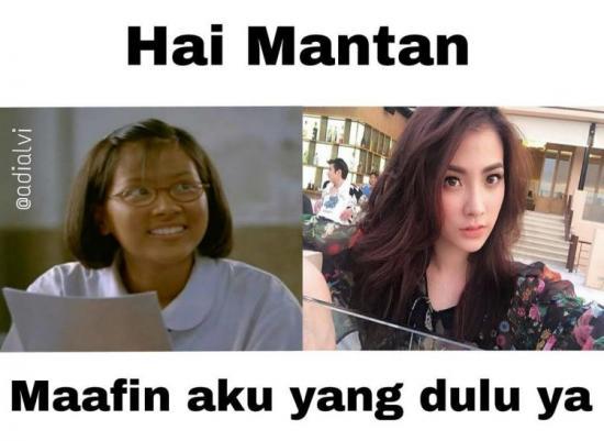 Kumpulan Meme Dear Mantan Maafin Aku Yang Dulu (5)