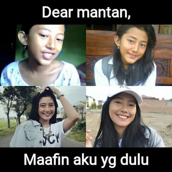 Kumpulan Meme Dear Mantan Maafin Aku Yang Dulu (6)