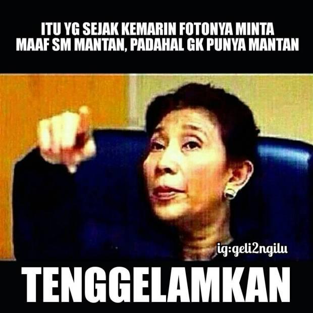 Kumpulan Meme Dear Mantan Maafin Aku Yang Dulu (8)